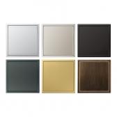 LS990 Blank 커버 (매립박스 제외) 메탈 알루미늄 스테인레스스틸 앤트러사이트 알루미늄다크 클래식브래스 앤틱브래스