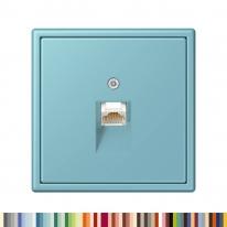 융 JUNG LS990 LC 유럽형 TEL/LAN 소켓 1구 2구 르 꼬르뷔제(Le Corbusier 63color)