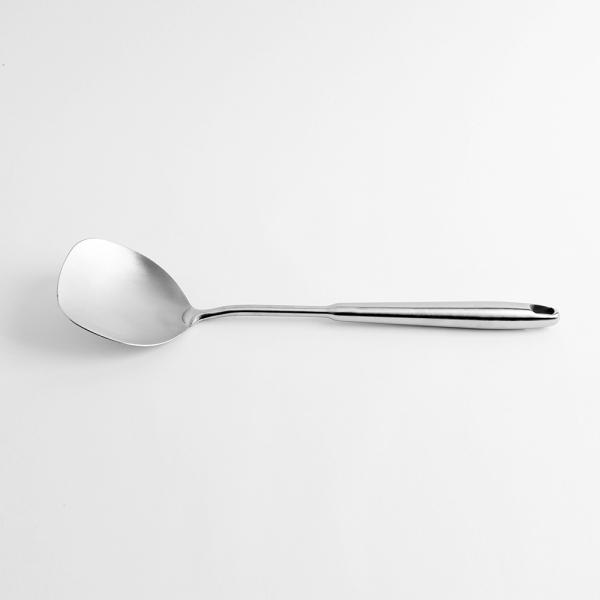 [쿠킹스]무광 스텐 주걱(39*10cm)/조리도구 볶음주걱