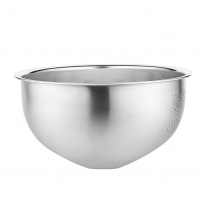 [쿠킹스]스텐 채반 믹싱볼(26*12.5cm)/쌀 야채 세척볼