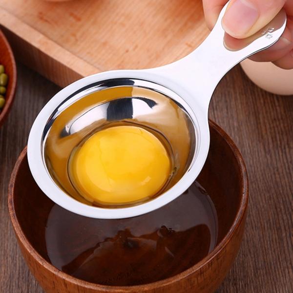 [쿠킹스]쉐프 스텐 계란분리기/달걀 노른자 분리개