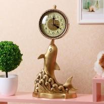 돌고래 엔틱 탁상시계/선물용 엔틱시계 인테리어시계