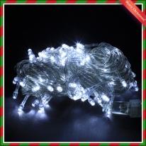 100구 LED 크리스마스 백색트리전구 8M 점멸有