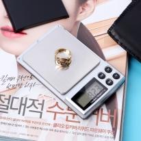 초정밀 전자저울(500gx0.01g)/계량저울 휴대용저울