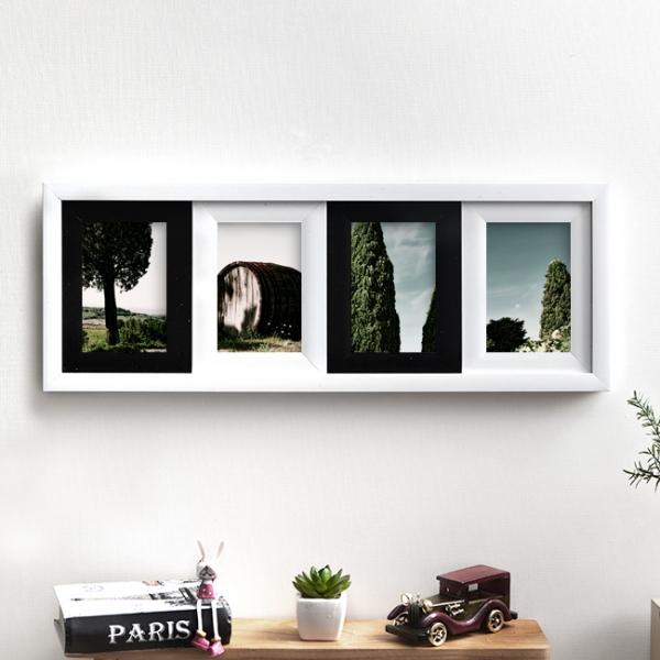 갤러리 인테리어 사진액자(4×6)(일자형)/벽걸이액자