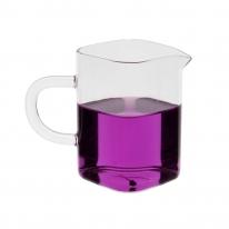 글라스 숙우 사각 유리잔(250ml)/다기 유리컵