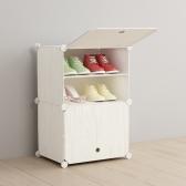 DIY 하우스룸 원목무늬 신발장 /조립식 신발정리대