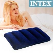 INTEX 에어배개/인텍스 캠핑용 야외 휴대용베개
