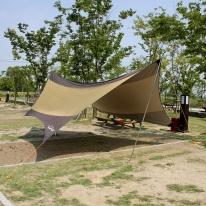 5M 캠핑 헥사 타프 / 햇빛차단 방수 그늘막