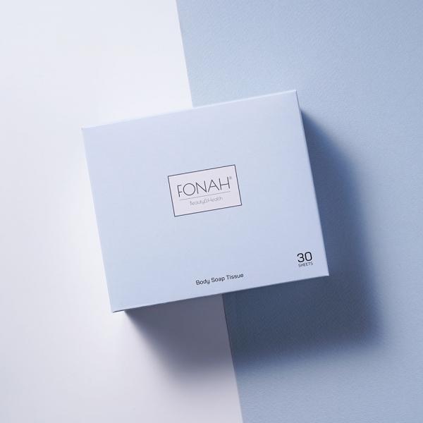 포나 바디솝티슈 여행용 샤워용품 30매입 1box