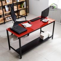 TS-02 강화유리 책상 1800x600 사무용컴퓨터게이밍책상