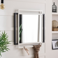 BZ 리모스 더블 행잉 스틸 거울