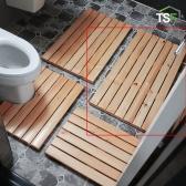HT 욕실 화장실 나무발판 L