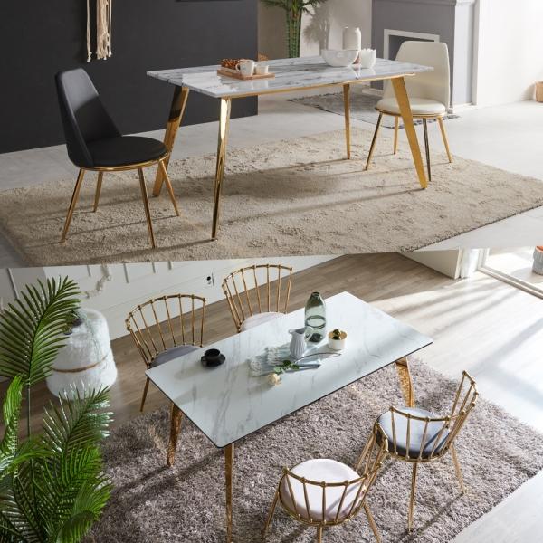 TS 대리석 세라믹 식탁 테이블