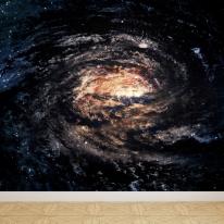 키즈뮤럴벽지 아트벽지 맞춤제작 우주 갤럭시