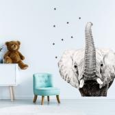 대형 패브릭 동물스티커 코끼리 아이방 인테리어