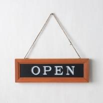 오픈 클로즈 양면문패(4color)