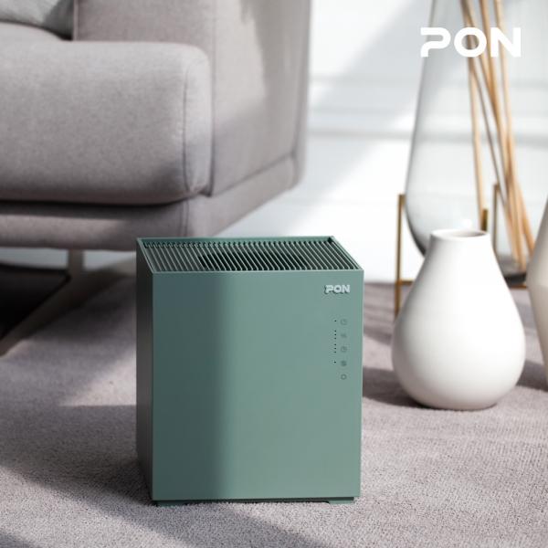 [쿠폰할인] [PON] 자연기화식 에어워셔 대용량 큐브 가습기 PH-5000 / 공간을 채우는 디자인