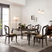 (퍼니프랑) 수입 엔틱가구 RG 22 프리미엄 그레이 식탁 의자