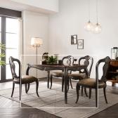 (퍼니프랑) 수입 엔틱가구 RG 22 프리미엄 그레이 식탁 테이블