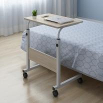 [무료배송]OMT 이동식 높이조절 거실 소파 침대 원목 사이드 테이블 ONA-604 [600*400]