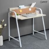 OMT 일자형 철제 원목 노트북 컴퓨터 책상 ONA-JY02
