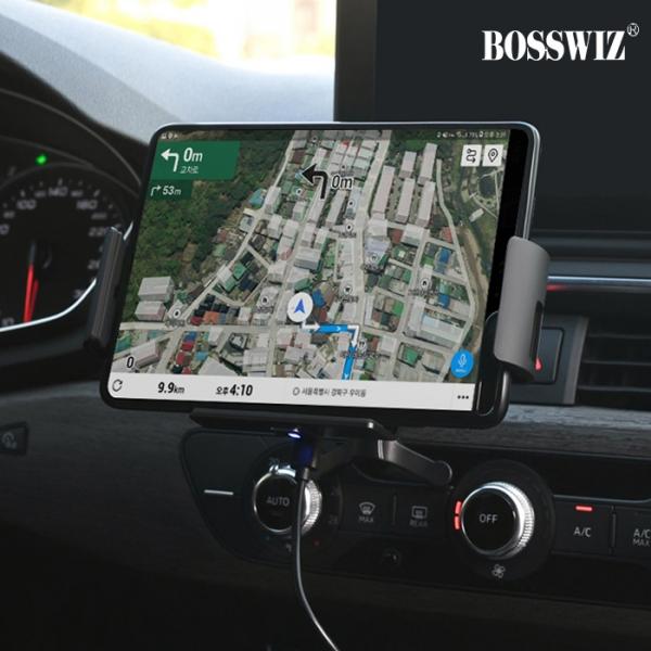 BOSSWIZ FOD자동센서 차량용 무선충전거치대 BOS-CH20