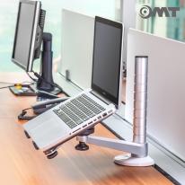 OMT 알루미늄 10단계 높이조절 노트북 거치대 ONA-OA1