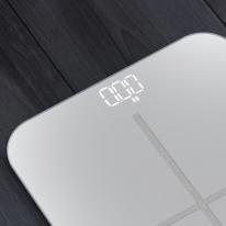 USB충전 스마트 디지털 가정용 전자체중계 LOT 체중계-화이트