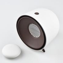 소형히터 가정 사무용 피그 미니히터 미니온풍기 피그미니히터 화이트