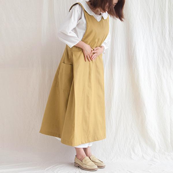 블룸 소녀 앞치마 (3colors)