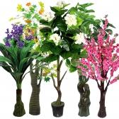 대형 인조나무 17종 조화나무 인테리어 가짜나무 조화 조경 대형조화 실내인테리어 조화장식