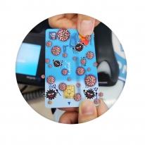 치치핑핑 신용카드 접착식 항균필름 10매