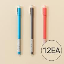 식스비 지워지는 볼펜 12개 세트 0.5mm