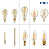 포커스 LED COB 디자인램프 A60 G95 G125 T30 ST64 T45 G45 PS35 에디슨전구 필라멘트타입