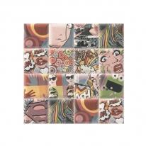 코토타일 팝아트 패턴 포인트 벽타일