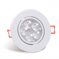 LED 다운라이트 3인치 직회전 5W 주광색 전구색 주백색