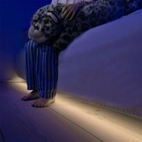 동작감지 LED 침대 가구 모션 센서등 간접등 FSL410