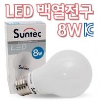 LED전구 백열전구타입 8W  ST