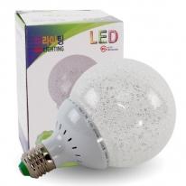 LED전구 크리스탈 볼램프 8W