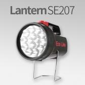 충전식 LED 랜턴 SE-207 후레쉬 IN