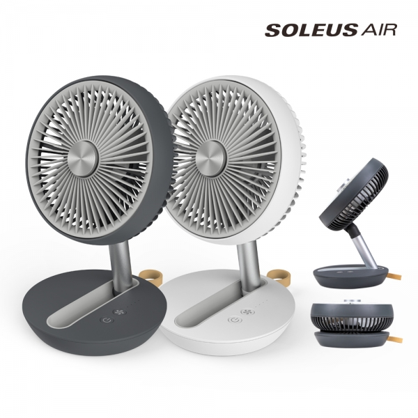 솔러스에어/접이식 무선 미니 탁상용 선풍기 AIR603FF/ 테이블팬