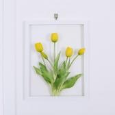 그리너리 튤립 식물액자 인테리어 투명아크릴액자