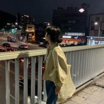 라피아 네트백 화이트
