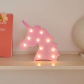 LED 유니콘 핑크 무드등 인테리어 조명