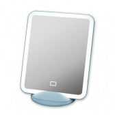 LED 조명 일체형 거울 코코 미러 화장 뷰티 탁상 자석 거치 메이크업