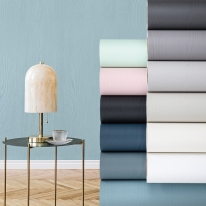 단색 우드 무늬목시트지 포인트 벽지 리폼 페인티드우드 싱크대 가구 방수 인테리어 필름