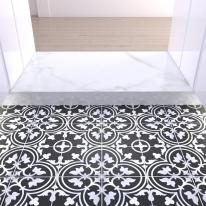 200x200 부티크 블랙 - 현관 욕실 베란다 발코니 셀프 타일 인테리어