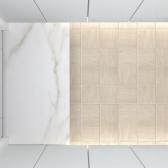 200x200  플루토 3종 낱장판매 - 현관 욕실 베란다 발코니 셀프 타일 인테리어