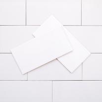 75x150 베이직 화이트 낱장판매 - 현관 욕실 베란다 발코니 셀프 타일 인테리어